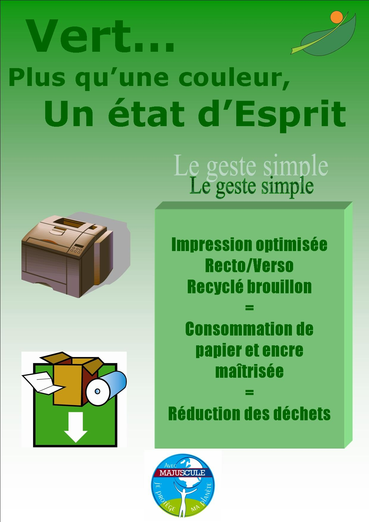 Le geste simple Impression optimise1